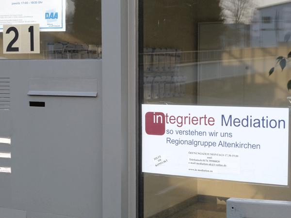 Büro der Regionalgruppe Altenkirchen