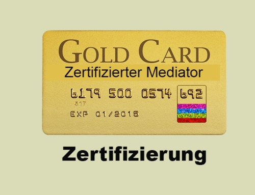 Zertifizierter Mediator