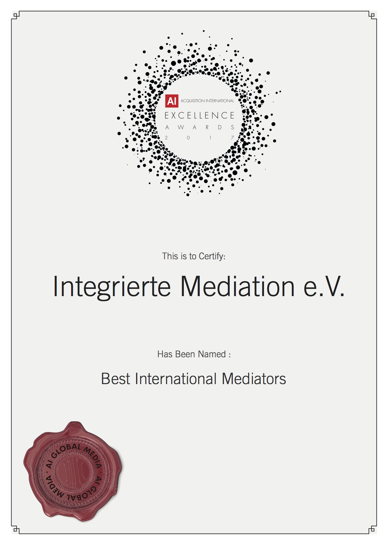 Best International Mediators