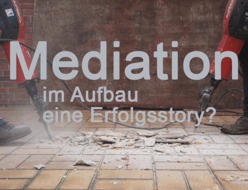 Die Geschichte der Mediation
