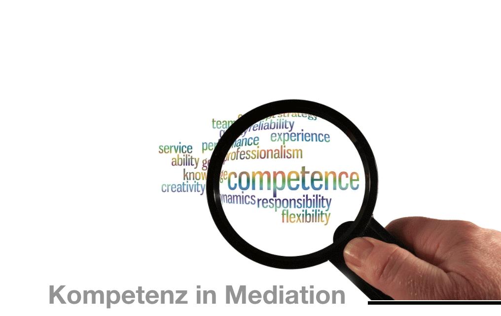 Die Kompetenz des Mediators