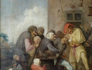 'The_Village_Charlatan_(The_Operation_for_Stone_in_the_Head)'_by_Adriaen_Brouwer,_The_Hermitage