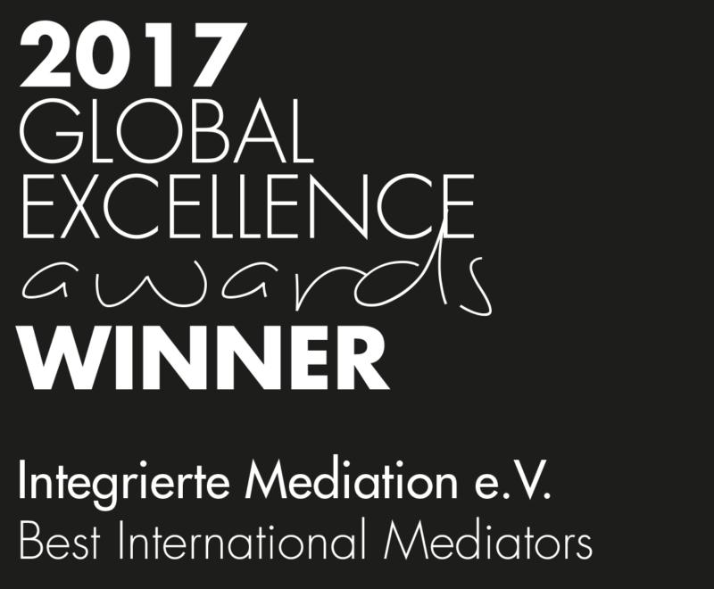 Auszeichnung Best International Mediators