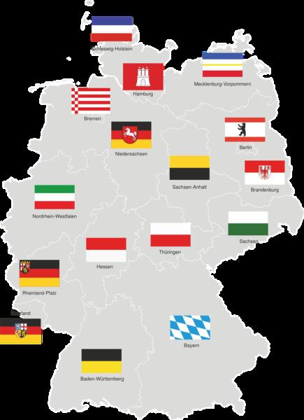 Regionalgruppen Deutschland