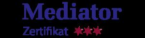 Mediator Zertifikat