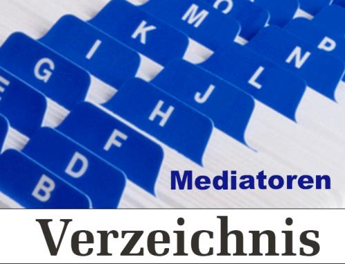 Mediatorenverzeichnis