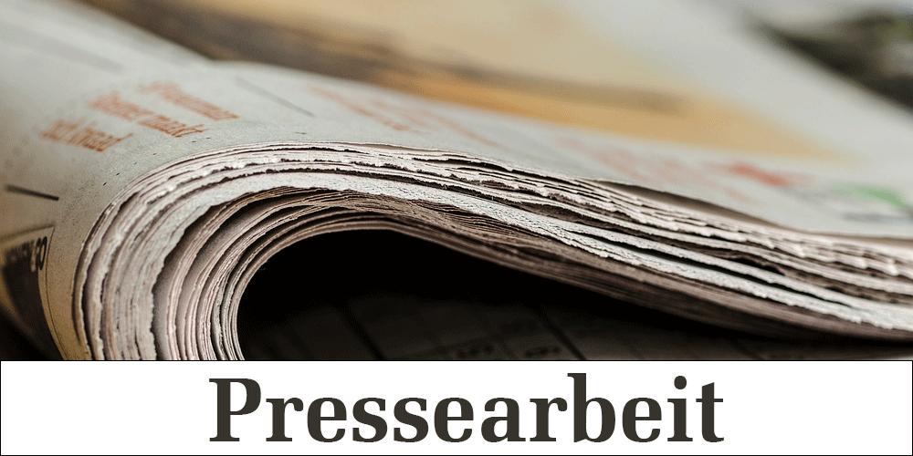 Pressearbeit