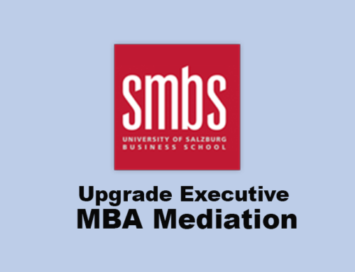 Executive MBA Mediation