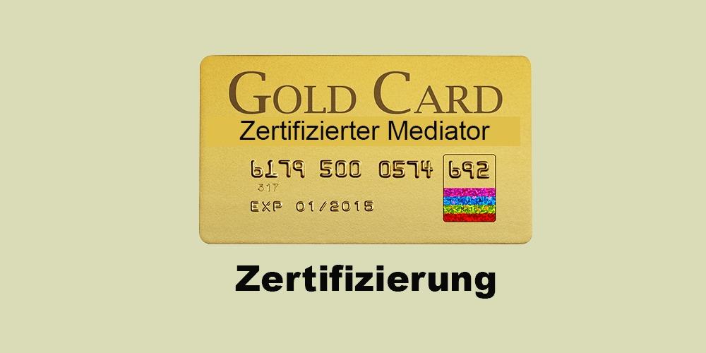 Zertifizierter Mediator - integrierte MEDIATION